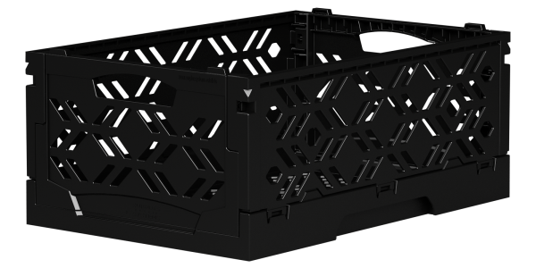 Klappbox Mini schwarz