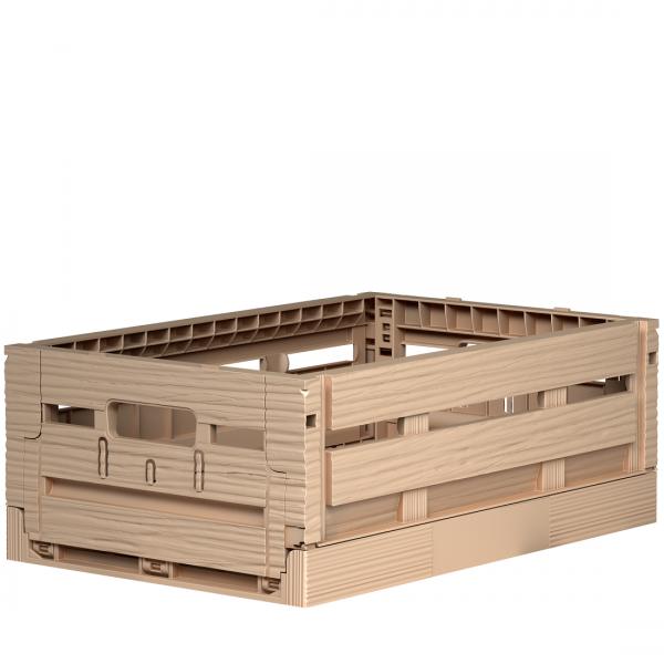 Klappbox in Holzoptik 20x30x11 cm