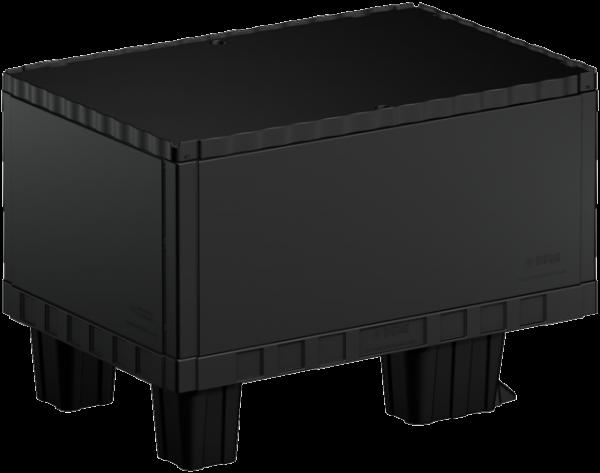 Smart-Display schwarz 40 cm ohne Logo/Druck mit Kufen